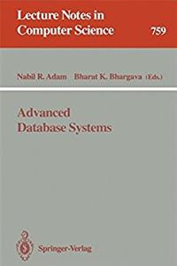 Advanced Database Systems (Lecture Notes in Computer Science)
