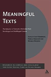 Meaningful Texts: The Extraction of Semantic Information from Monolingual a ...