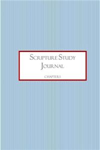 Scripture Study Journal: Chapters