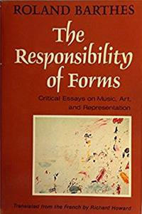 The Responsibility of Forms: Critical Essays on Music, Art, and Representat ...