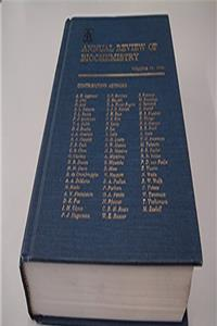 Annual Review of Biochemistry: 1990