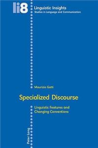 Specialized Discourse (Linguistic Insights)
