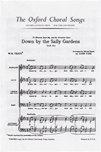Down by the Sally Gardens: Vocal score