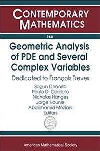 Geometric Analysis Of PDE And Several Complex Variables: Dedicated To Franc ...