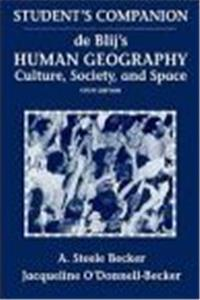 Human Geography, Study Guide: Culture, Society, and Space