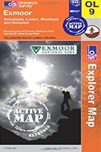Exmoor (OS Explorer Map)