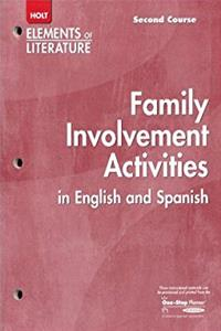 Family Involvement Activities in English and Spanish Holt Elements of literature Second Course Grade 8