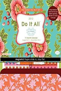2012 Do It All Lily Ashbury Magnetic Calendar #15518