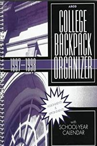 College Backpack Organizer With School-Year 1997-1998 (Arco Test Preparation Guides)