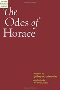 The Odes of Horace (Johns Hopkins New Translations from Antiquity)